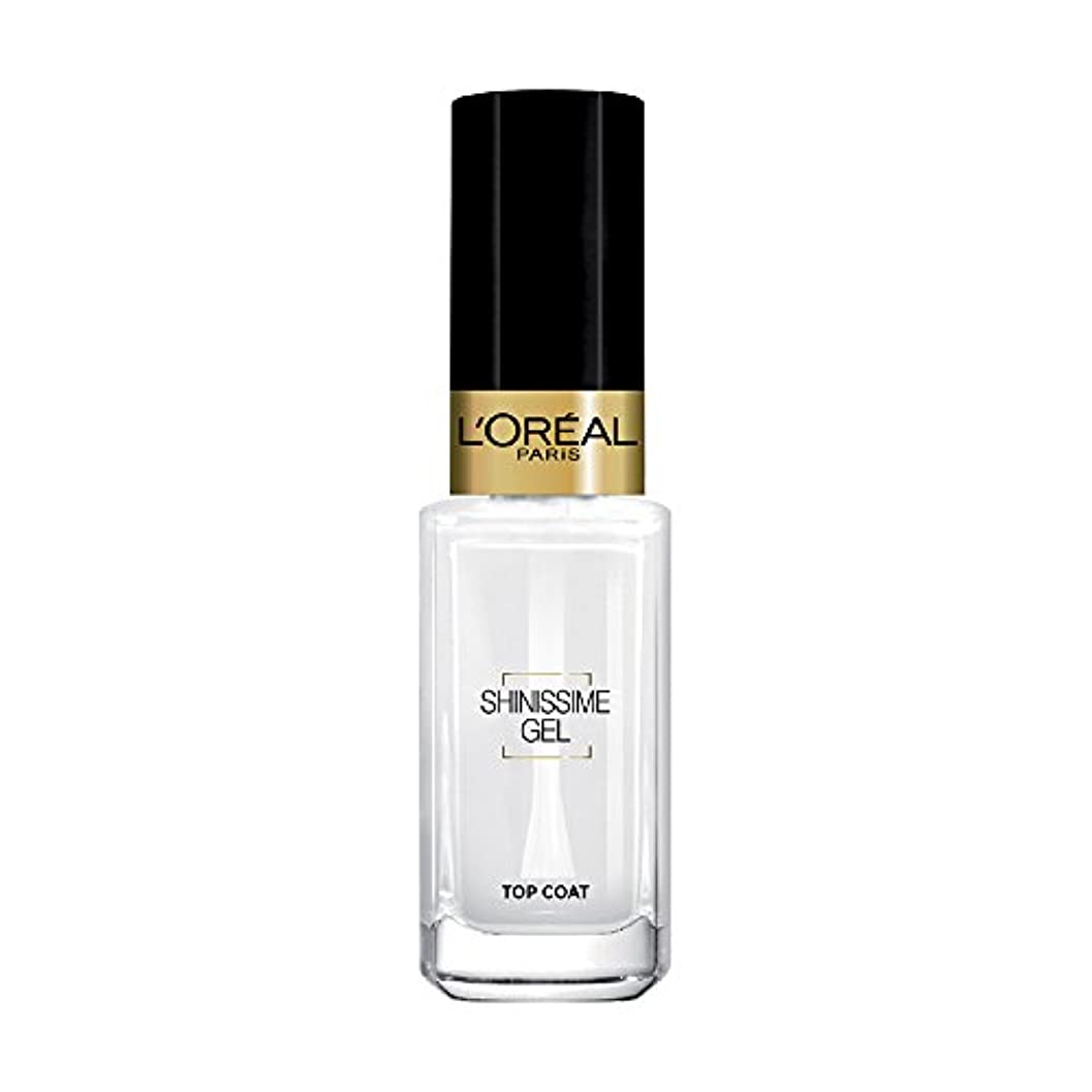 適合野球晩ごはんL 'Oréal Paris shinissime Gel Top Coat effekt gel