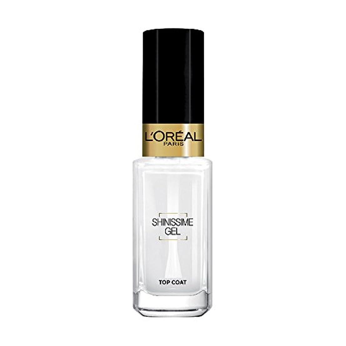 本体鋼元に戻すL 'Oréal Paris shinissime Gel Top Coat effekt gel