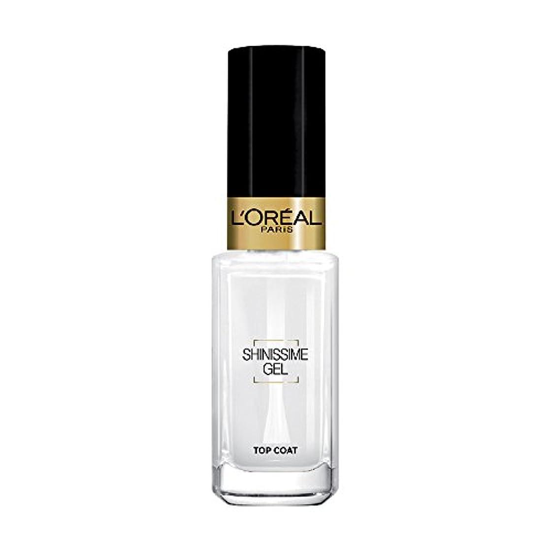 夜明けに話す拮抗L 'Oréal Paris shinissime Gel Top Coat effekt gel