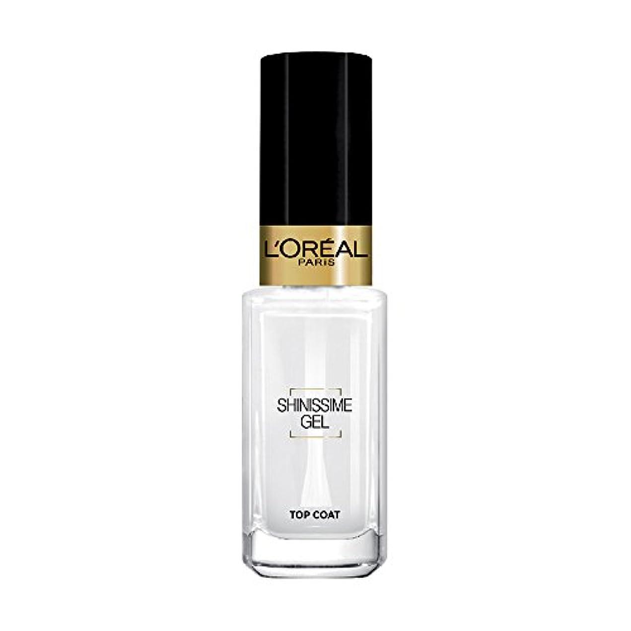 境界ブラストテスピアンL 'Oréal Paris shinissime Gel Top Coat effekt gel