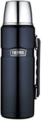 Thermos Stainless King Vacuum Insulated Flask, 1.2L, Midnight Blue, SK2010MBAUS