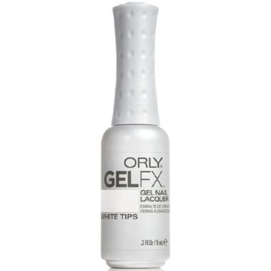 怠なガイドインチOrly Gel FX Gel UV Vernis à Ongles/ Gel Polish - White Tips 9ml