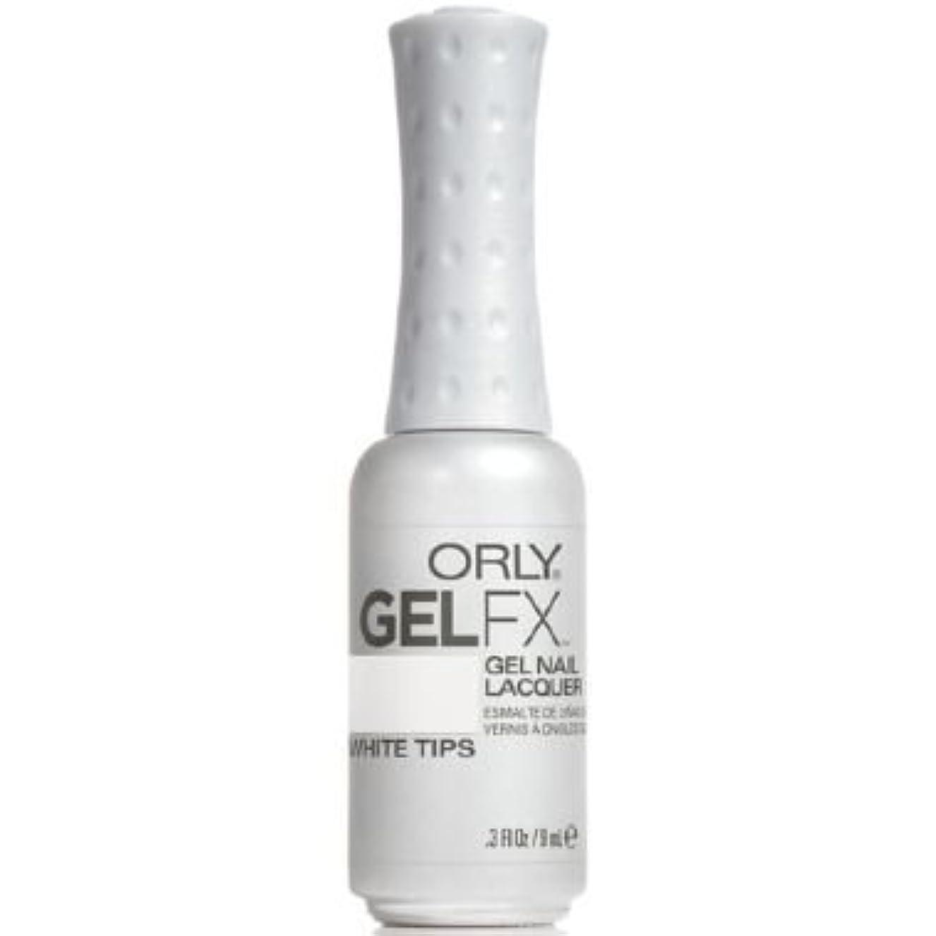 ファシズム権威本質的ではないOrly Gel FX Gel UV Vernis à Ongles/ Gel Polish - White Tips 9ml