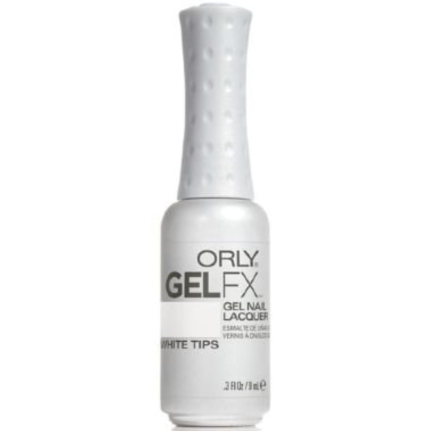 道を作るふくろうセットするOrly Gel FX Gel UV Vernis à Ongles/ Gel Polish - White Tips 9ml