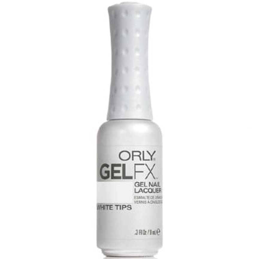 ロッド葉っぱ勝利したOrly Gel FX Gel UV Vernis à Ongles/ Gel Polish - White Tips 9ml
