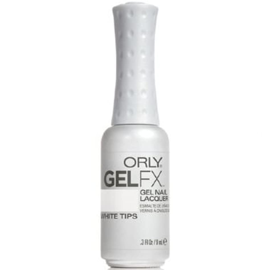 取り壊す著作権のぞき穴Orly Gel FX Gel UV Vernis à Ongles/ Gel Polish - White Tips 9ml
