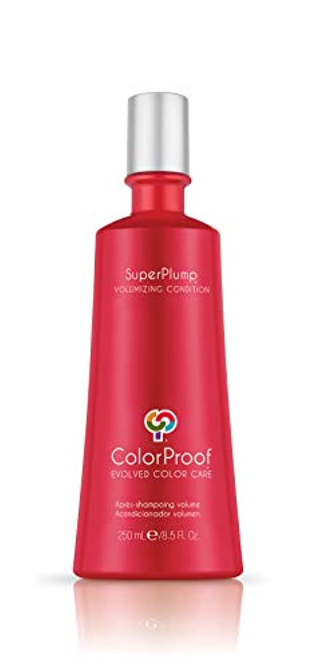 甘くする揮発性クッションColorProof SuperPlump Volumizing Condition 8.5oz by ColorProof