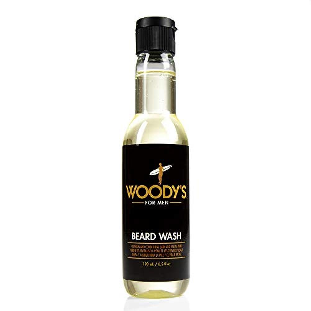 場所背景当社Woody's Quality Grooming - Beard Wash - 6.5oz/190ml