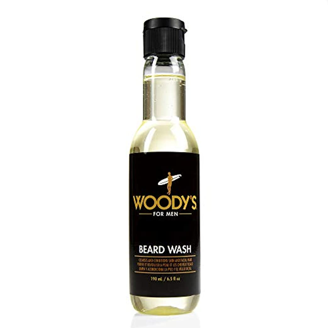スナッチバルコニー血まみれWoody's Quality Grooming - Beard Wash - 6.5oz/190ml