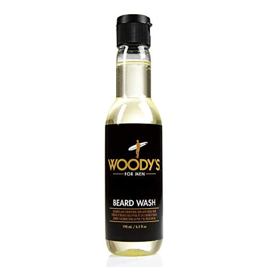 エクスタシー無線水星Woody's Quality Grooming - Beard Wash - 6.5oz/190ml