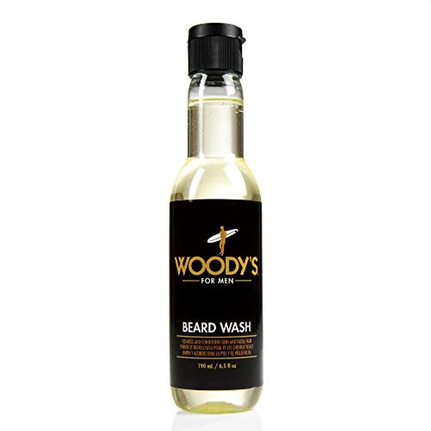 飾る調子ごみWoody's Quality Grooming - Beard Wash - 6.5oz/190ml
