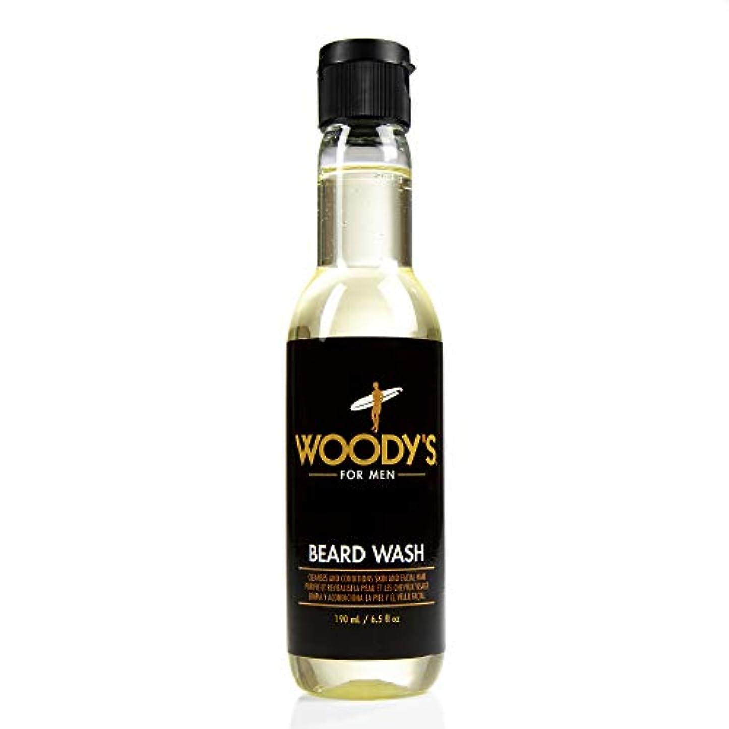 ふさわしい隔離最少Woody's Quality Grooming - Beard Wash - 6.5oz/190ml