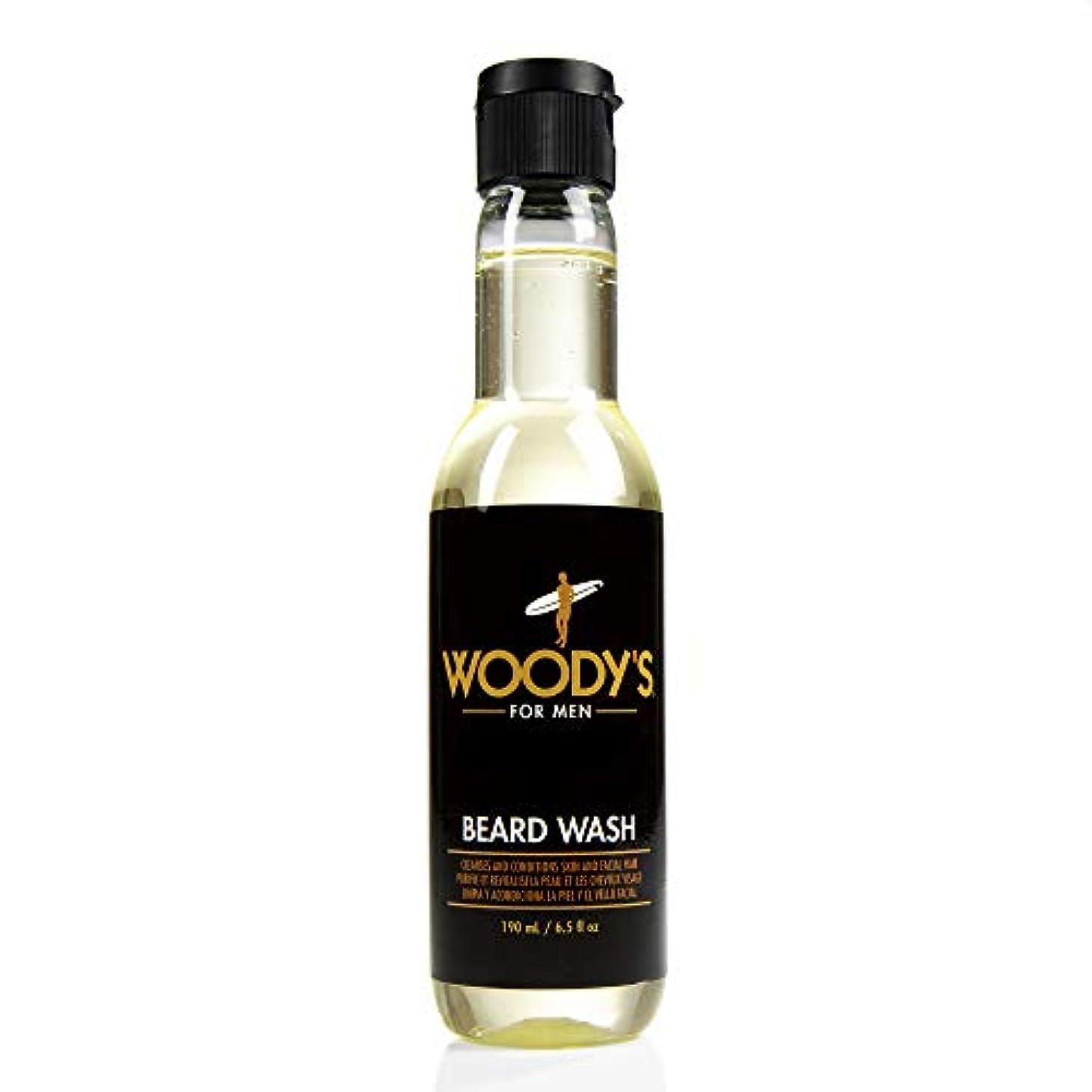 午後生む海外でWoody's Quality Grooming - Beard Wash - 6.5oz/190ml