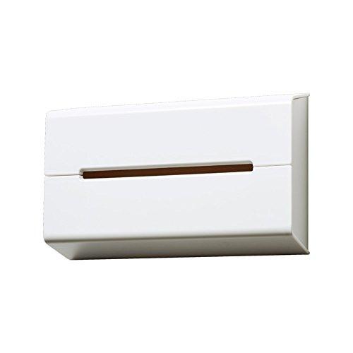 RoomClip商品情報 - イデアコ ティッシュケース 壁に貼って使えるウォール ホワイト