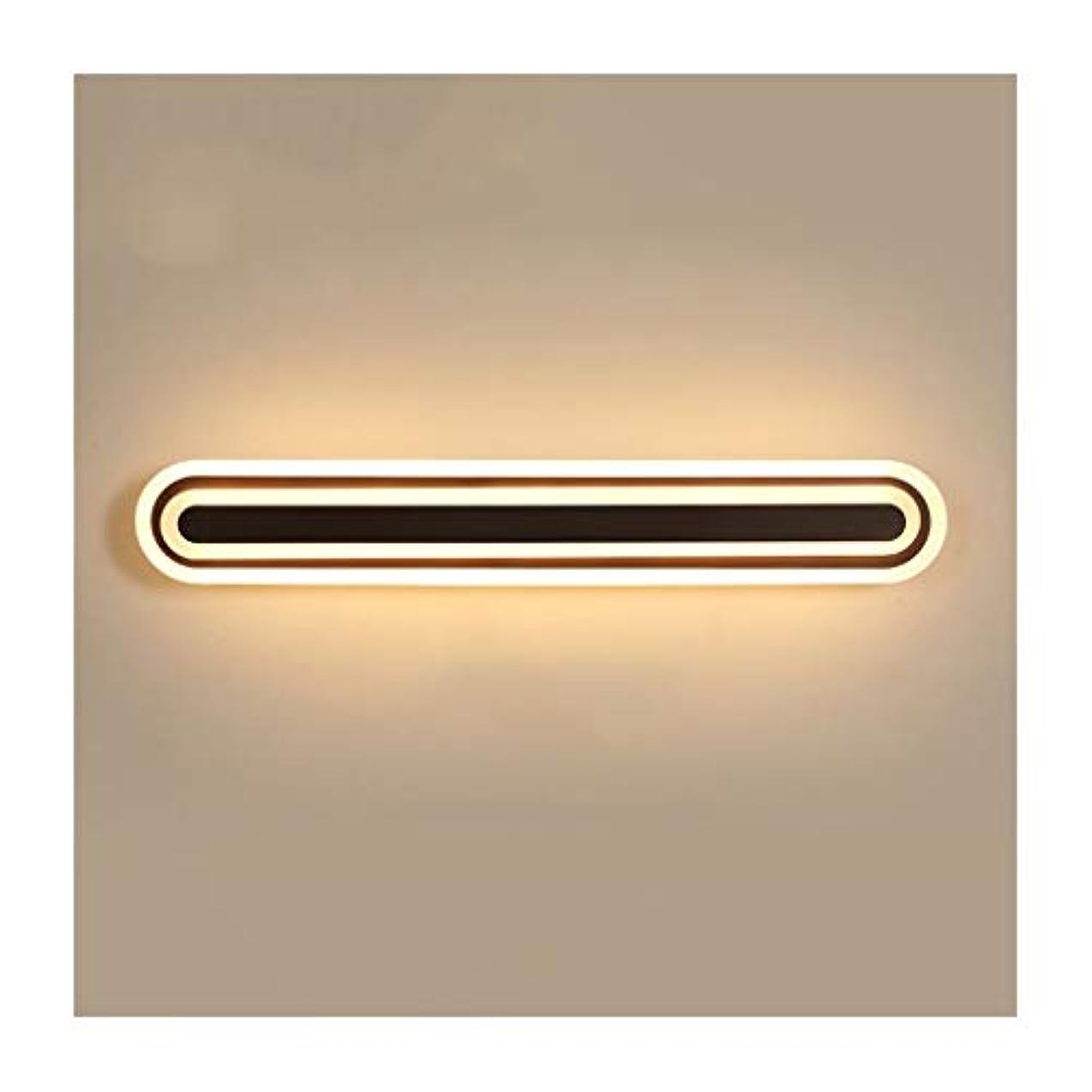 キャンプではごきげんよう応じる-光 Ledミラーヘッドライトホテルウォールランプ浴室防曇水ミラーキャビネットランプ化粧ランプベッドサイドランプ メイクアップライト (Color : Warm light, Size : 100cm)