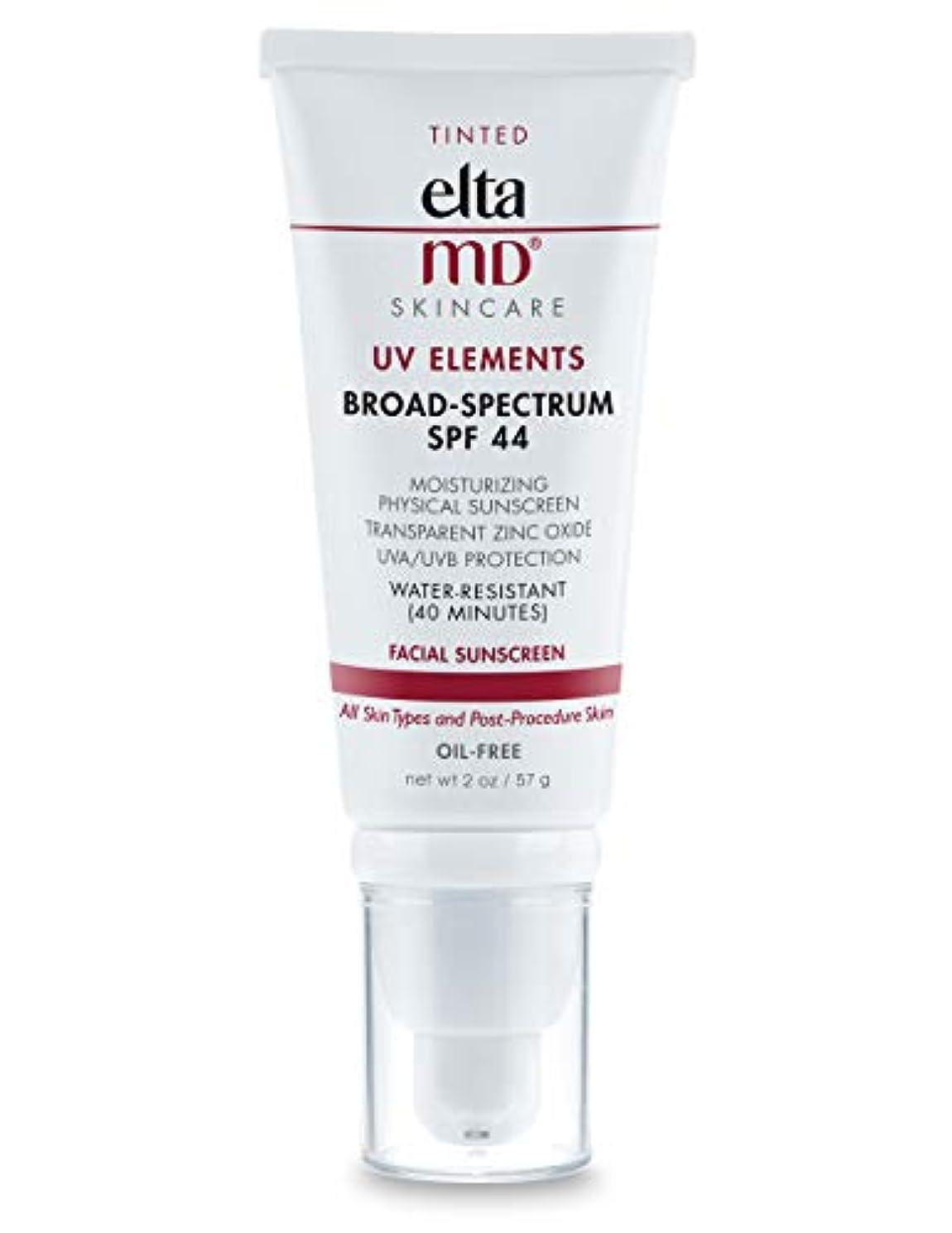 バイソン鉛筆荒涼としたエルタMD UV Elements Moisturizing Physical Tinted Facial Sunscreen SPF 44 - For All Skin Types & Post-Procedure Skin...
