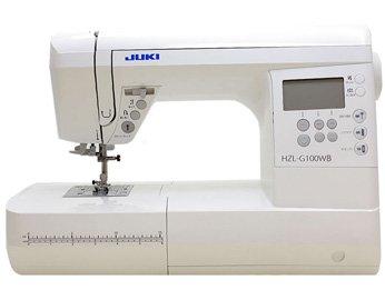 JUKI コンピュータミシン HZL-G100WB (HZL-G100のモデル)