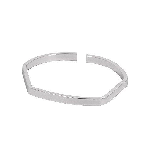 [해외]단순 가장자리 뱅글 팔찌 bracelet 루삐스/Simple edge bangle bracelet bracelet lupis