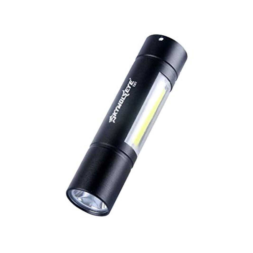 消す消化器酸っぱいノウ建材貿易 懐中電灯屋外USBミニ多用途照明毎日使用する (色 : 黒)