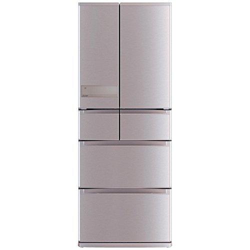 三菱 冷蔵庫 プレミアムフレンチモデル センター開き 470L ローズゴールド MR-JX47LA N