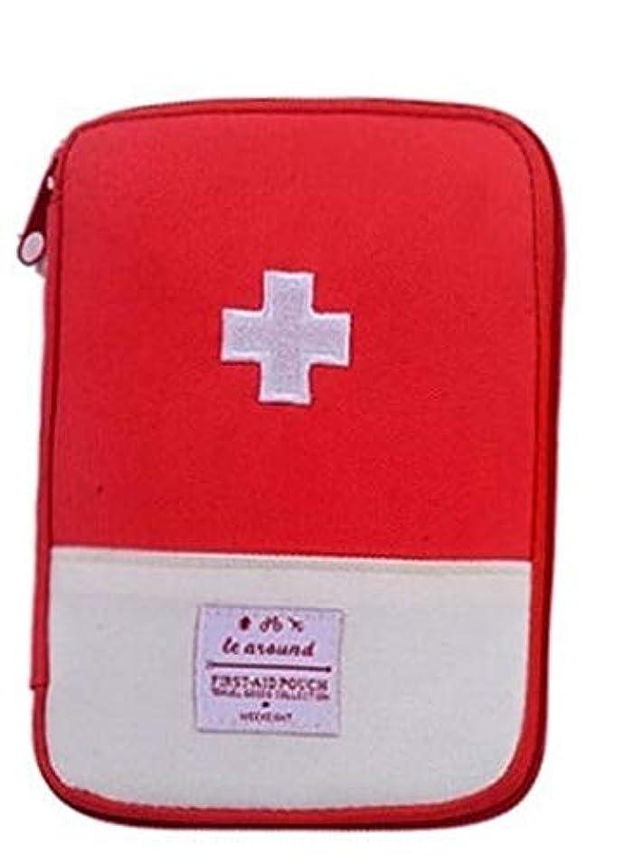 出身地咲く活性化SZB ミニ救急箱 ミニ救急バッグ 常備薬収納 携帯用救急箱 小型 軽量 防水 家庭 旅行 外出 旅行 トラベルポーチ