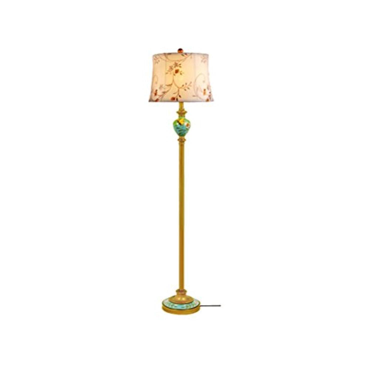 ブース成り立つ手錠レトロガーデンスタディ垂直テーブルランプヨーロッパの創造的な暖かい寝室のベッドサイドのフロアランプ (Color : 9405200090)