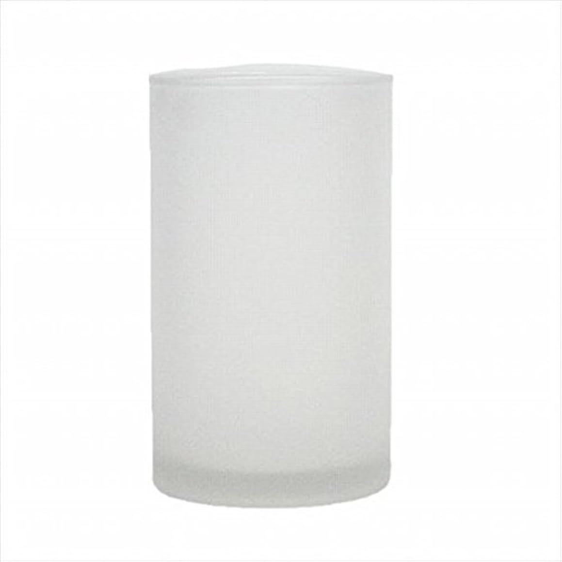 ペルセウス話入浴kameyama candle(カメヤマキャンドル) モルカグラスSフロスト キャンドル 90x90x155mm (65980000)