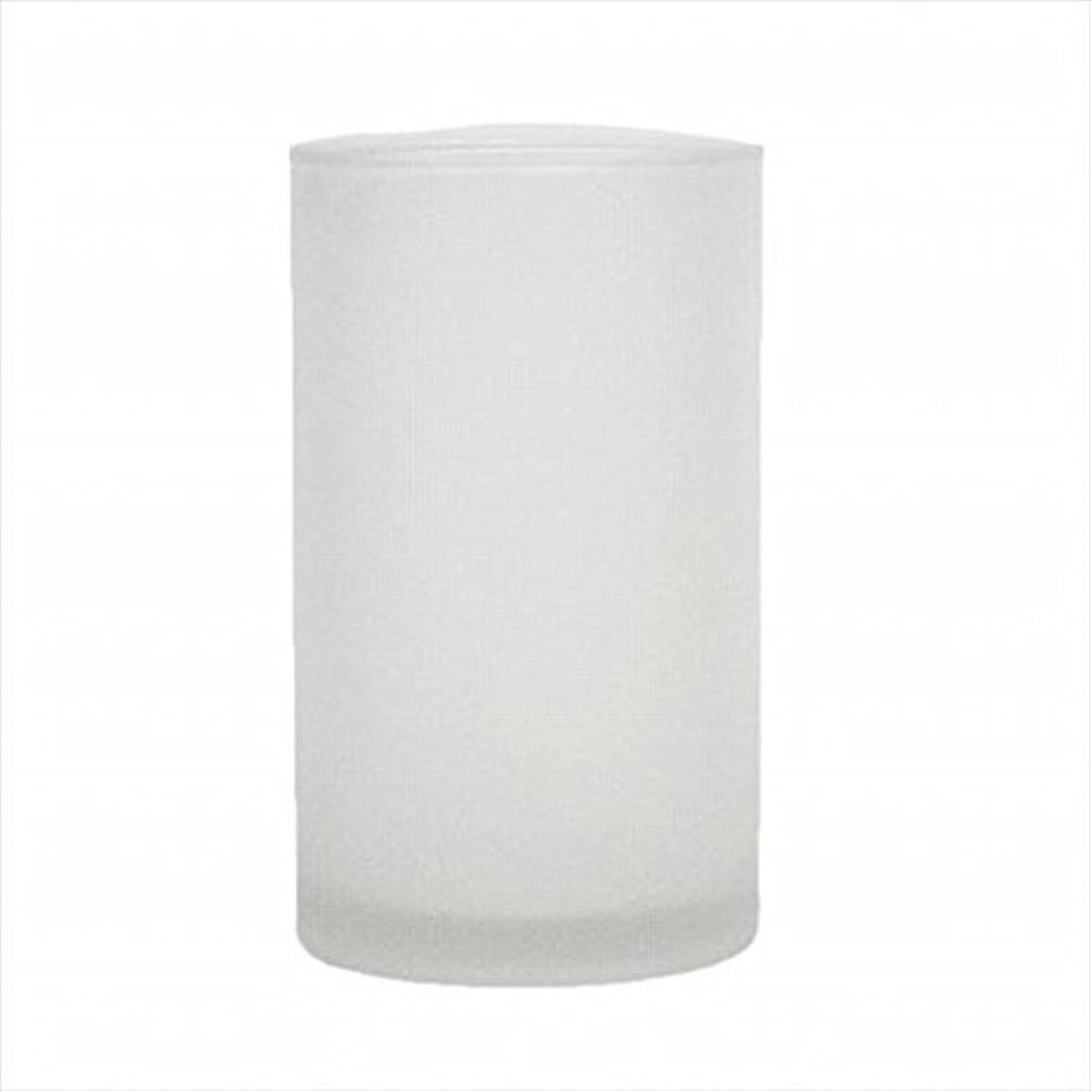 アカウント不適切な哲学kameyama candle(カメヤマキャンドル) モルカグラスSフロスト キャンドル 90x90x155mm (65980000)