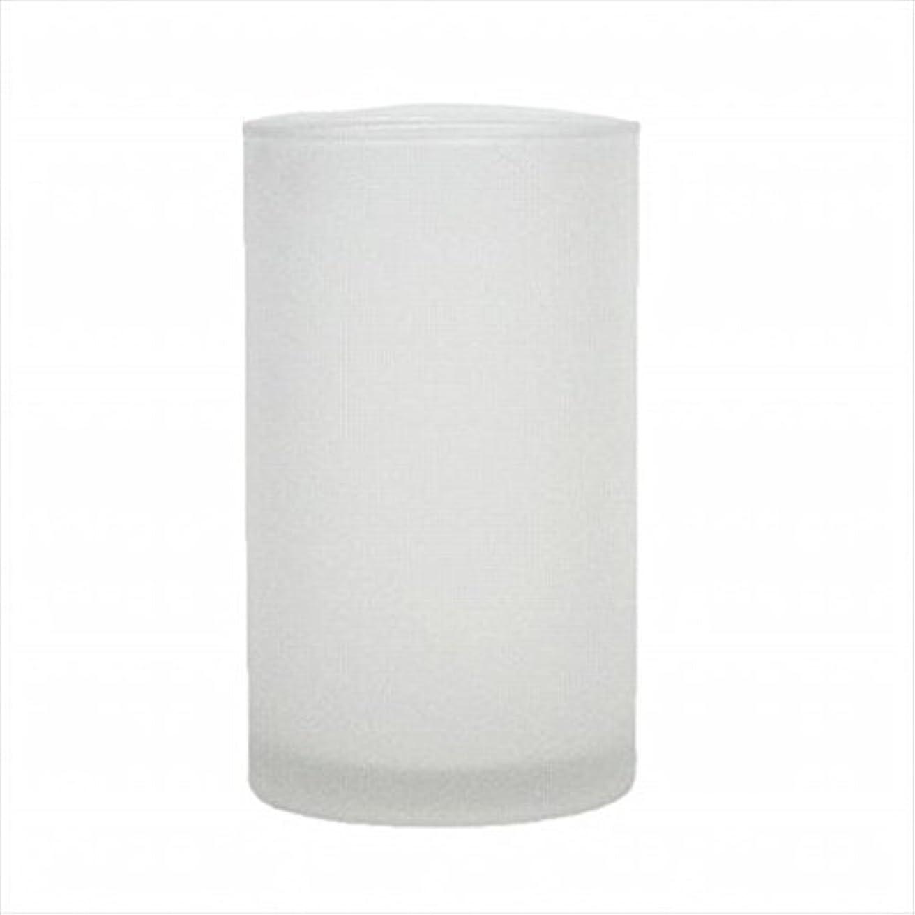 説明するピット繁殖kameyama candle(カメヤマキャンドル) モルカグラスSフロスト キャンドル 90x90x155mm (65980000)