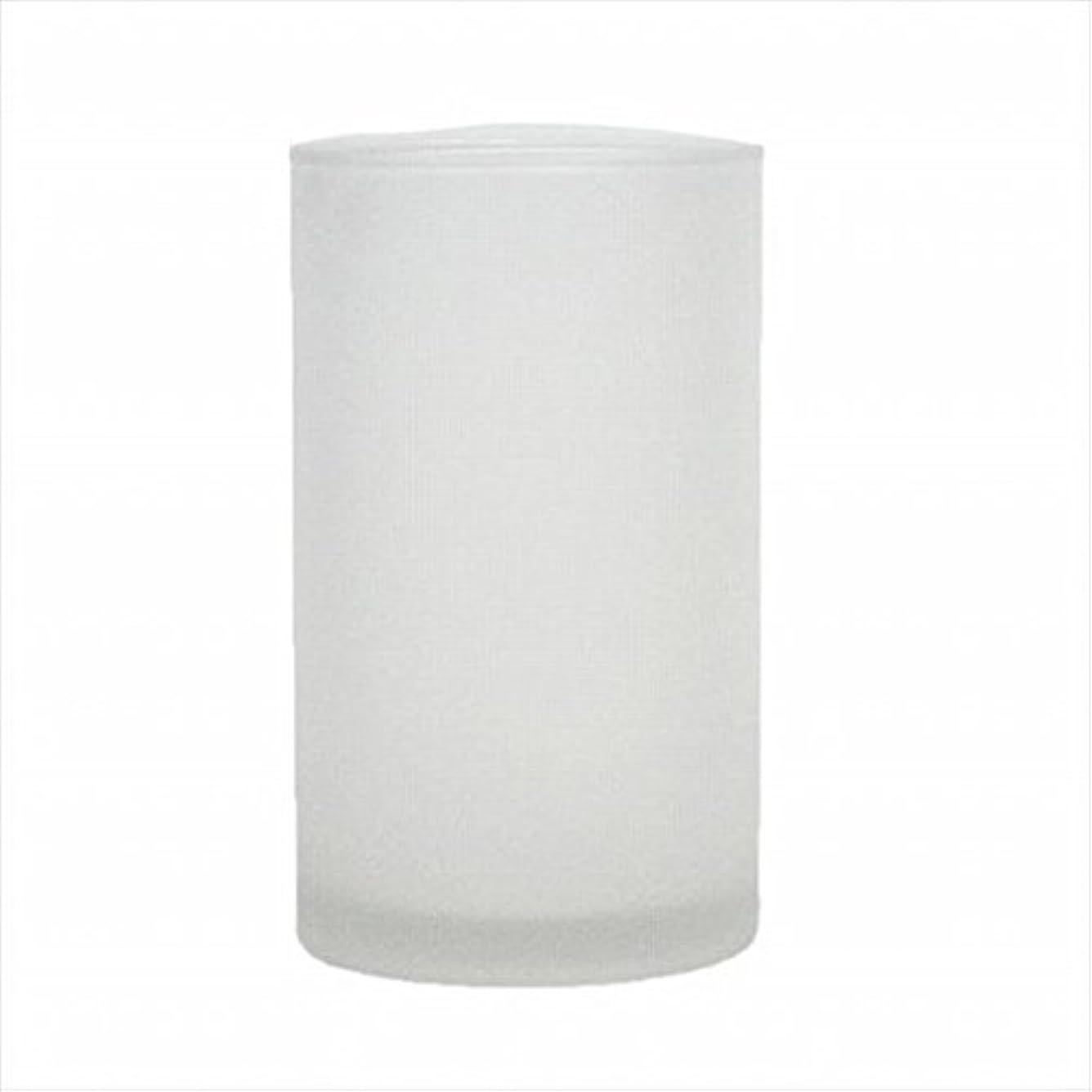 騒調べるリマークkameyama candle(カメヤマキャンドル) モルカグラスSフロスト キャンドル 90x90x155mm (65980000)