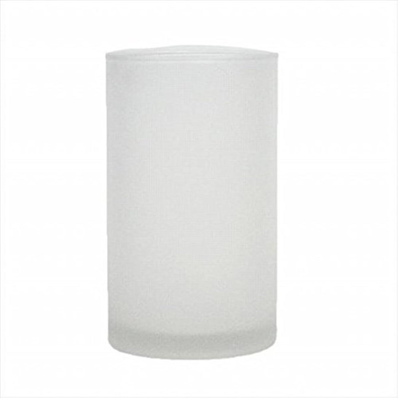 ポンペイ航空便沿ってkameyama candle(カメヤマキャンドル) モルカグラスSフロスト キャンドル 90x90x155mm (65980000)