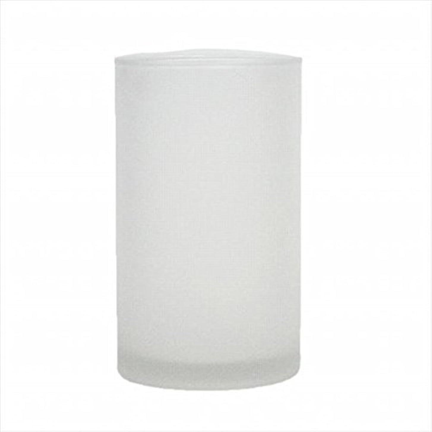 側溝作成者害kameyama candle(カメヤマキャンドル) モルカグラスSフロスト キャンドル 90x90x155mm (65980000)