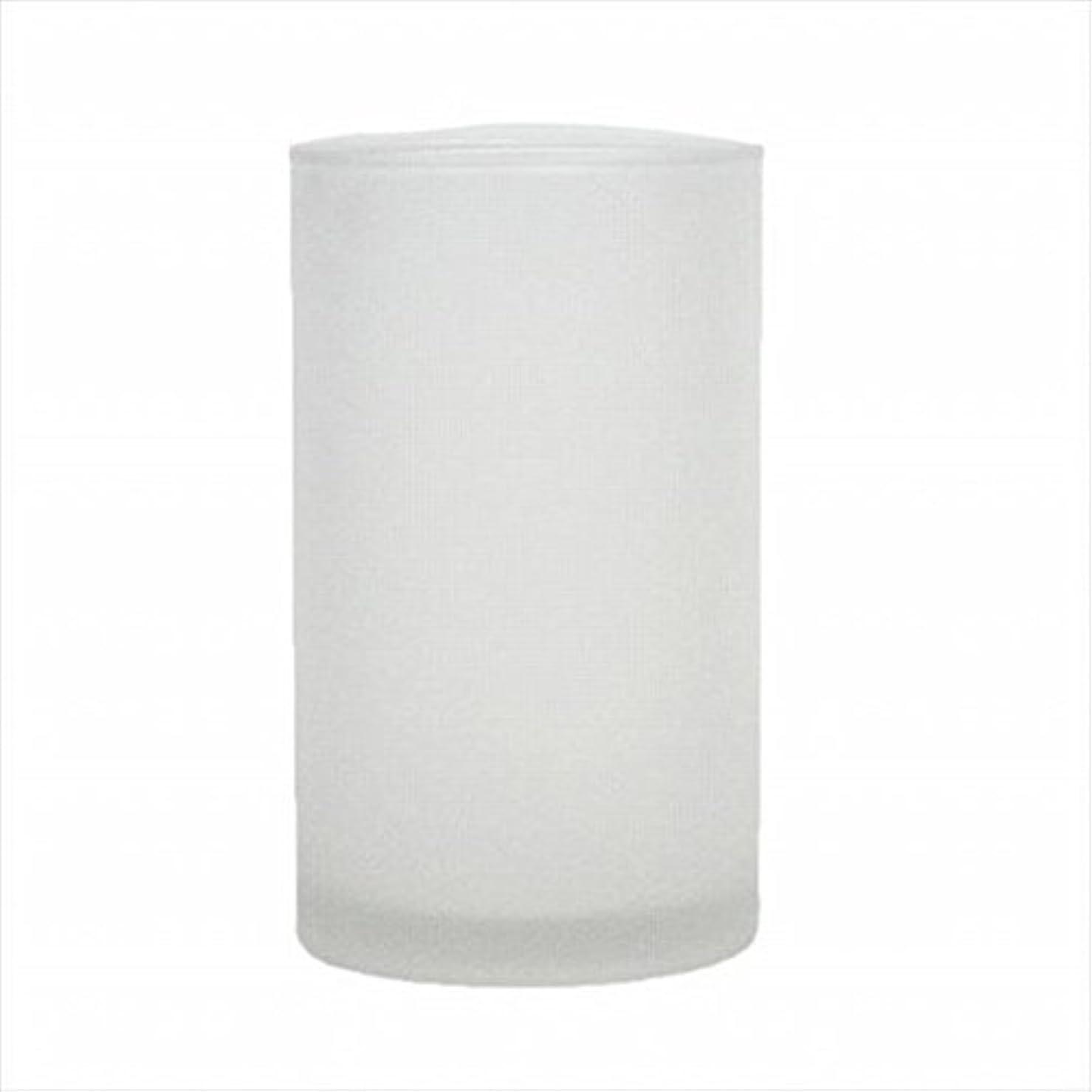 ほんの求める化石kameyama candle(カメヤマキャンドル) モルカグラスSフロスト キャンドル 90x90x155mm (65980000)
