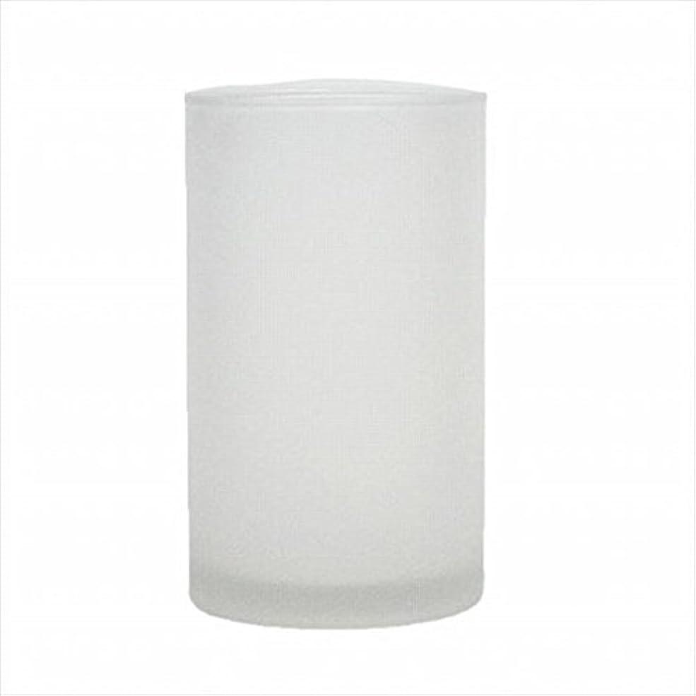 地図暖かく承認kameyama candle(カメヤマキャンドル) モルカグラスSフロスト キャンドル 90x90x155mm (65980000)