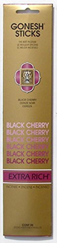 クランプダイヤモンドミュウミュウGONESH インセンス エクストラリッチ スティック BLACK CHERRY 20本入