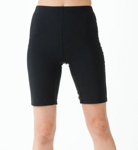 (ルモード)lemodeフィットネス水着日本製P106パンツのみポリウレタン20%4分丈パンツ裏マチ付レディース女性用(9Mサイズ)