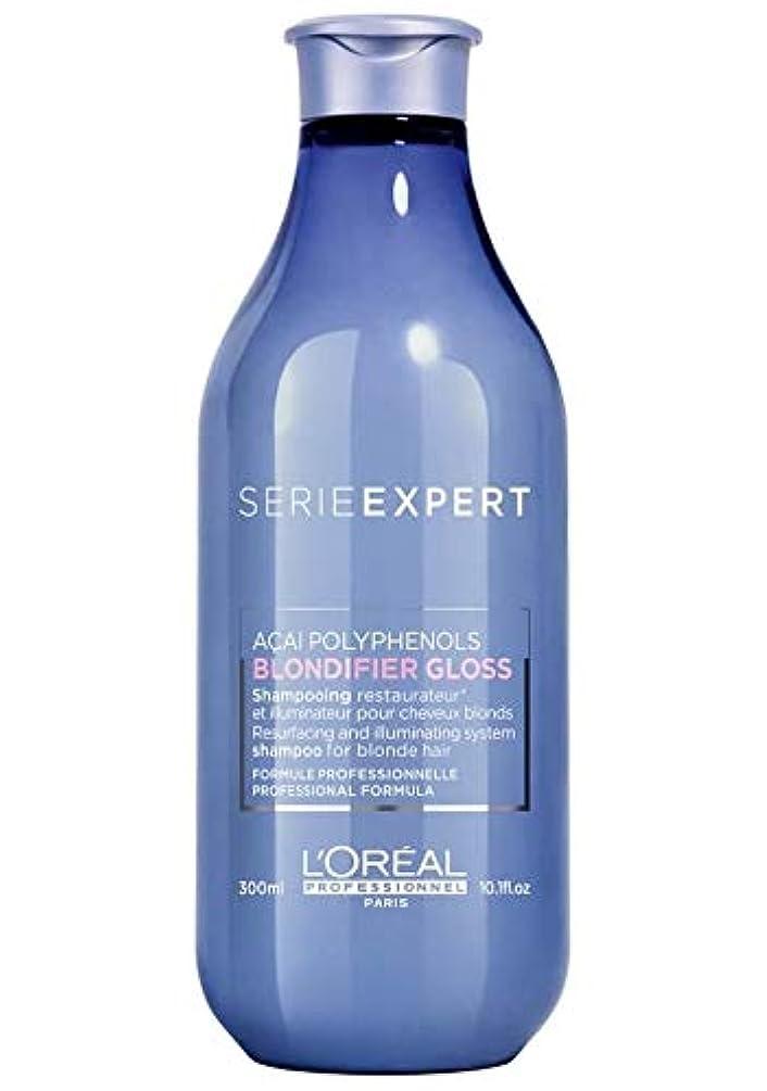 小麦リスキーな貫入ロレアル セリエ エクスパート ブロンディファイア グロス シャンプー L'Oreal Serie Expert Blondifier Gloss Shampoo 300 ml [並行輸入品]