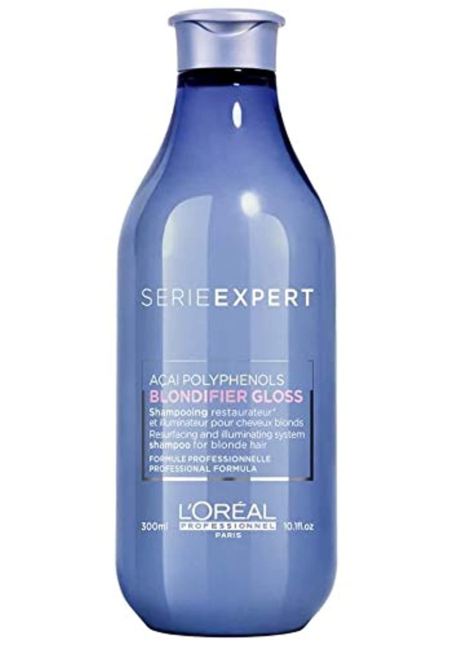 熟練した着陸満州ロレアル セリエ エクスパート ブロンディファイア グロス シャンプー L'Oreal Serie Expert Blondifier Gloss Shampoo 300 ml [並行輸入品]