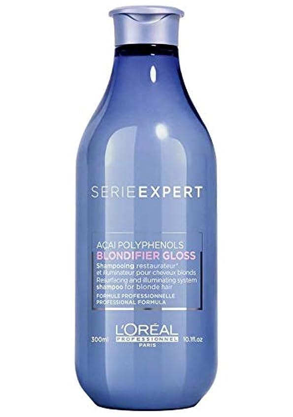 奴隷曲げる薄いですロレアル セリエ エクスパート ブロンディファイア グロス シャンプー L'Oreal Serie Expert Blondifier Gloss Shampoo 300 ml [並行輸入品]