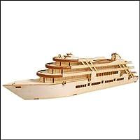 Young Modeler Junior Serises, 木製モデルキット_クルーズ船(YM749) [並行輸入品]