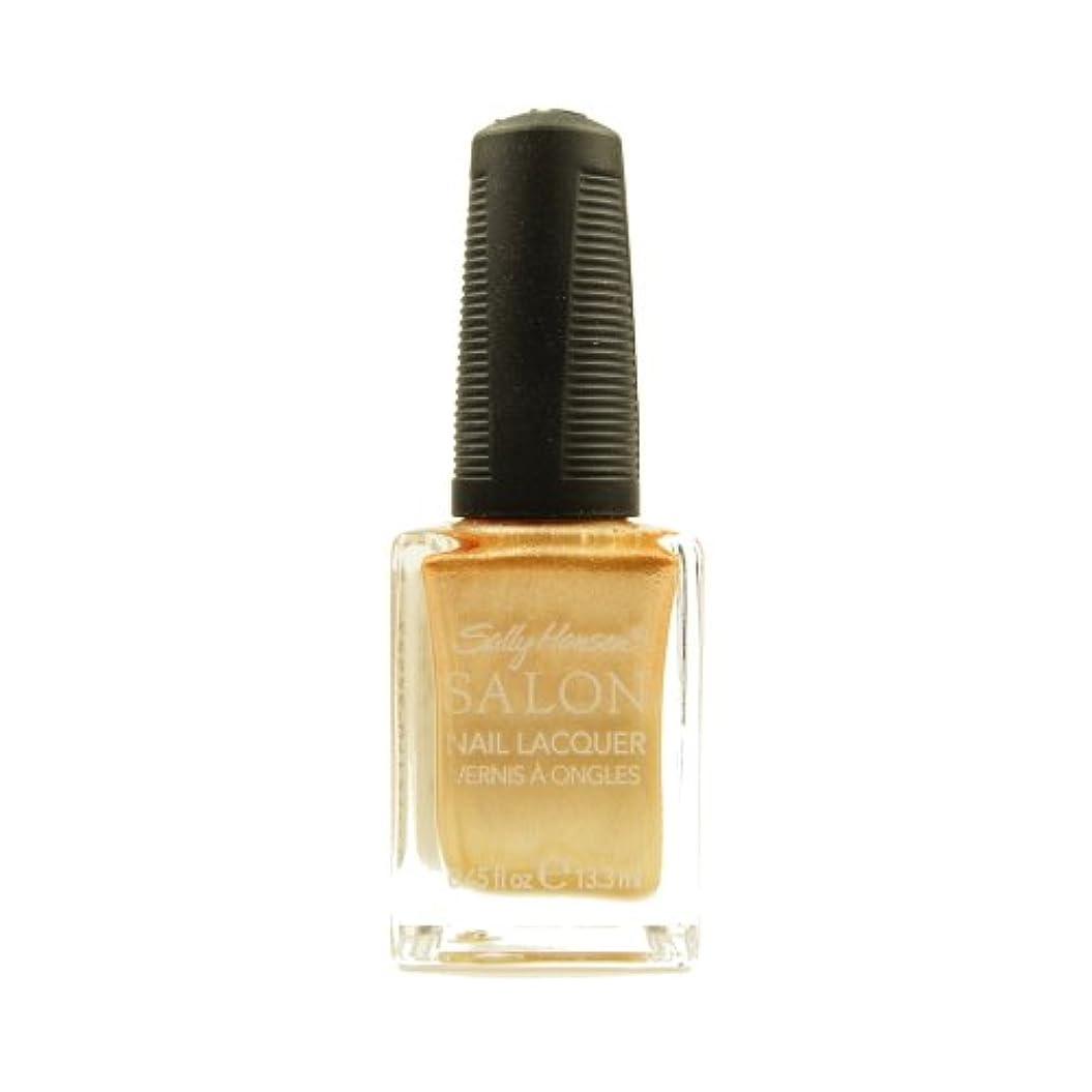 佐賀夕暮れスラム街(3 Pack) SALLY HANSEN Salon Nail Lacquer 4134 - Gilty Pleasure (並行輸入品)
