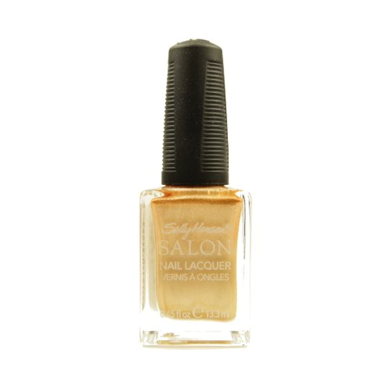 好奇心盛酸っぱい時間厳守(3 Pack) SALLY HANSEN Salon Nail Lacquer 4134 - Gilty Pleasure (並行輸入品)