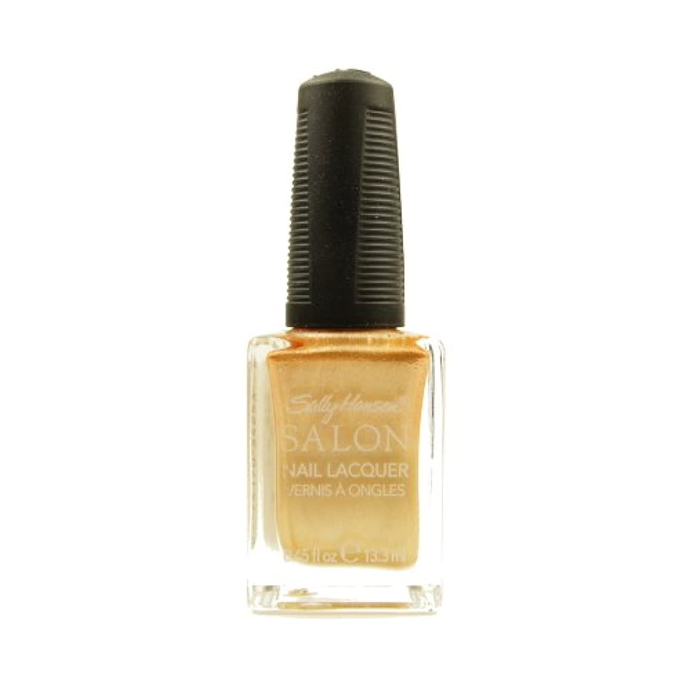 七時半大人ロック(6 Pack) SALLY HANSEN Salon Nail Lacquer 4134 - Gilty Pleasure (並行輸入品)