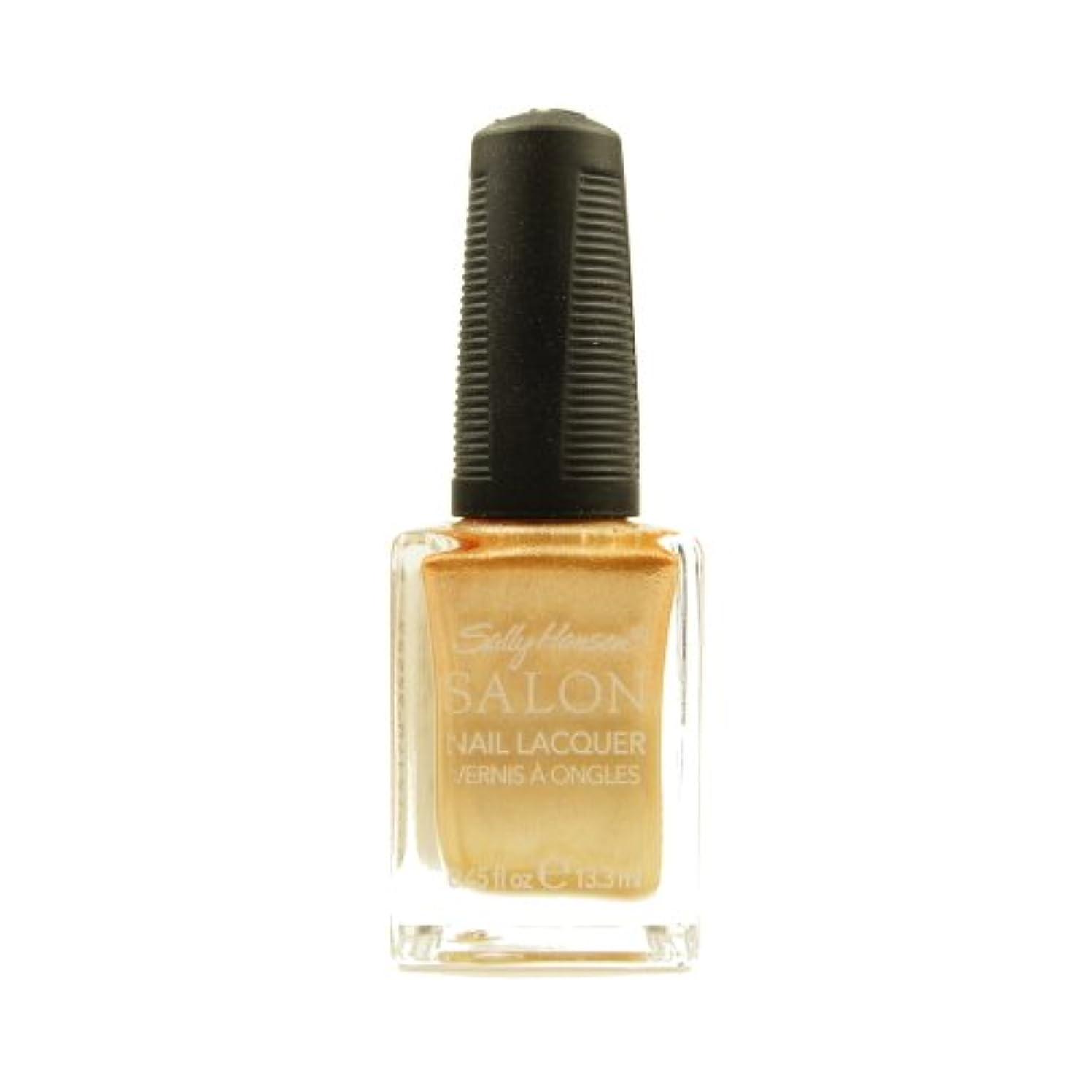 お勧め望む書士(6 Pack) SALLY HANSEN Salon Nail Lacquer 4134 - Gilty Pleasure (並行輸入品)