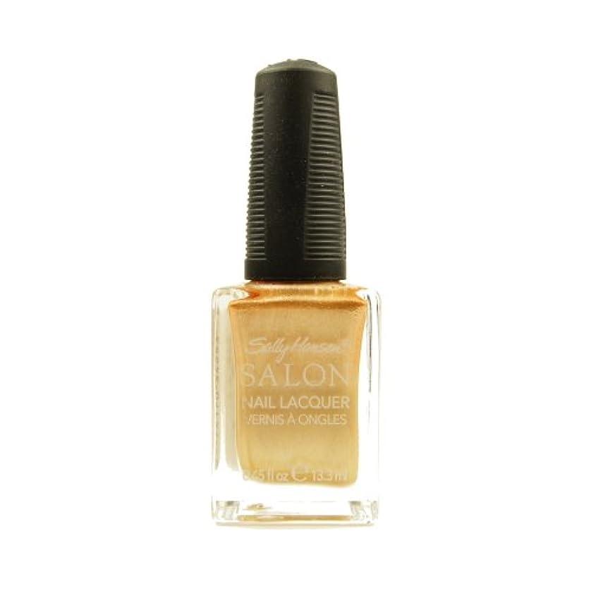 観光貢献葉を拾う(6 Pack) SALLY HANSEN Salon Nail Lacquer 4134 - Gilty Pleasure (並行輸入品)