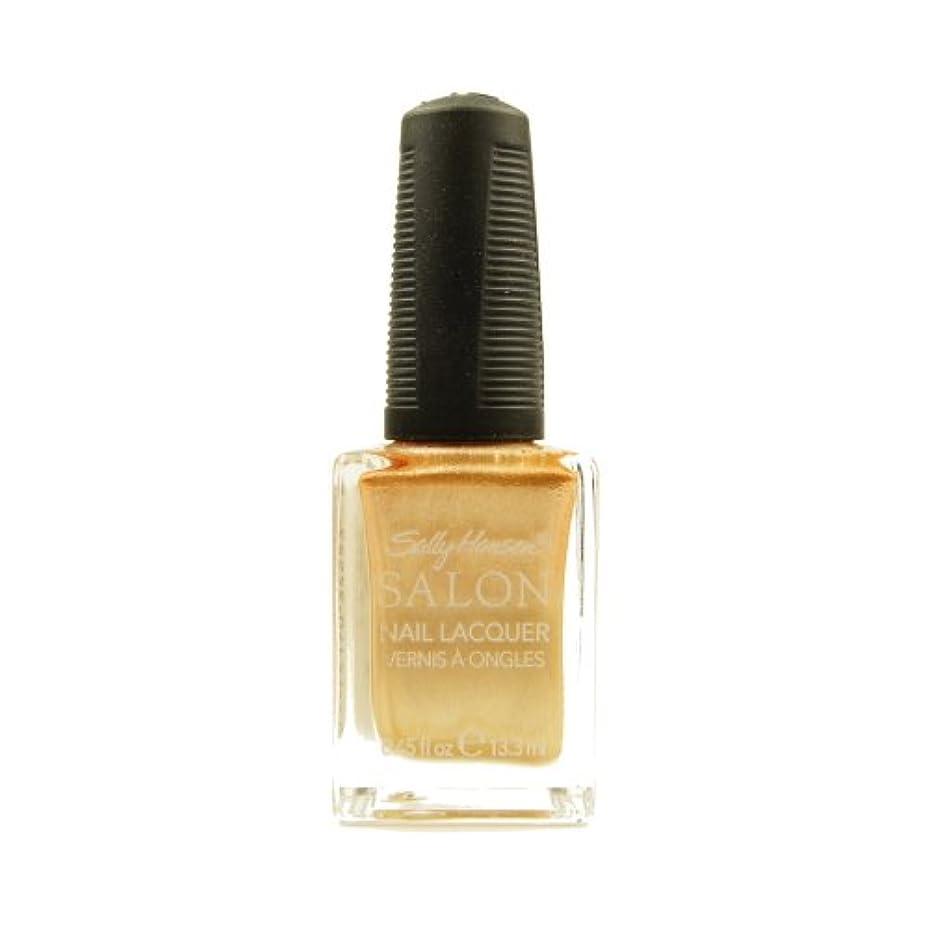 医薬品ペチュランス公平な(6 Pack) SALLY HANSEN Salon Nail Lacquer 4134 - Gilty Pleasure (並行輸入品)