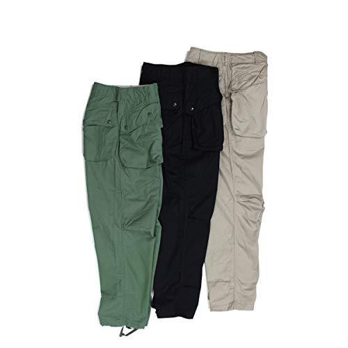 エンジニアド ガーメンツ ENGINEERED GARMENTS NORWEGIAN PANT パンツ カーゴパンツ ブラック カーキ オリーブ 19SF007 メンズ (並行輸入品) (ネイビー, M)