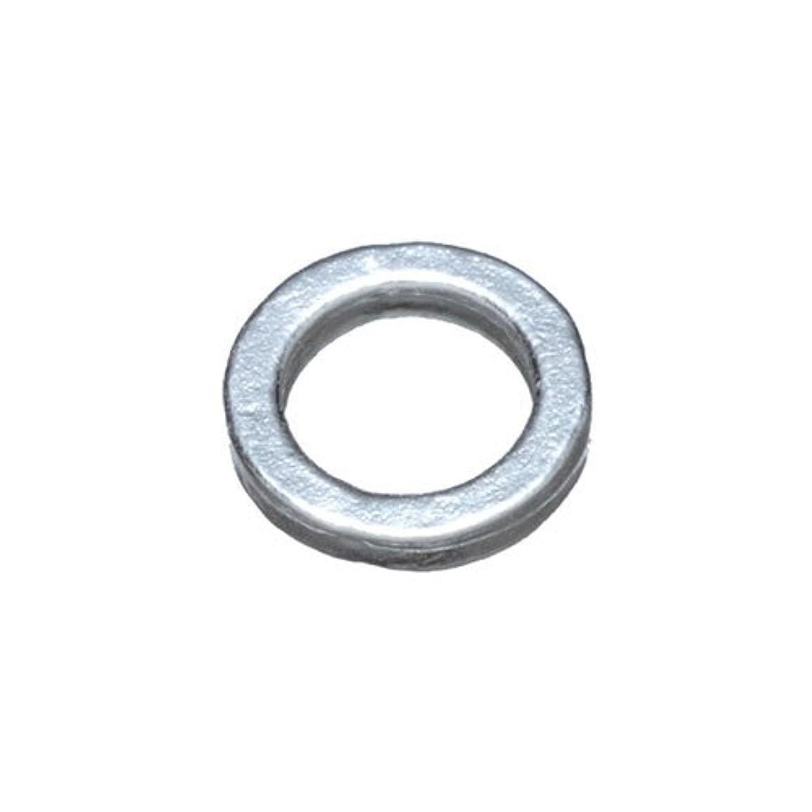 添加剤適性間違っているプリティーネイル ネイルアートパーツ プレーンリングS シルバー 15個 PN-776R