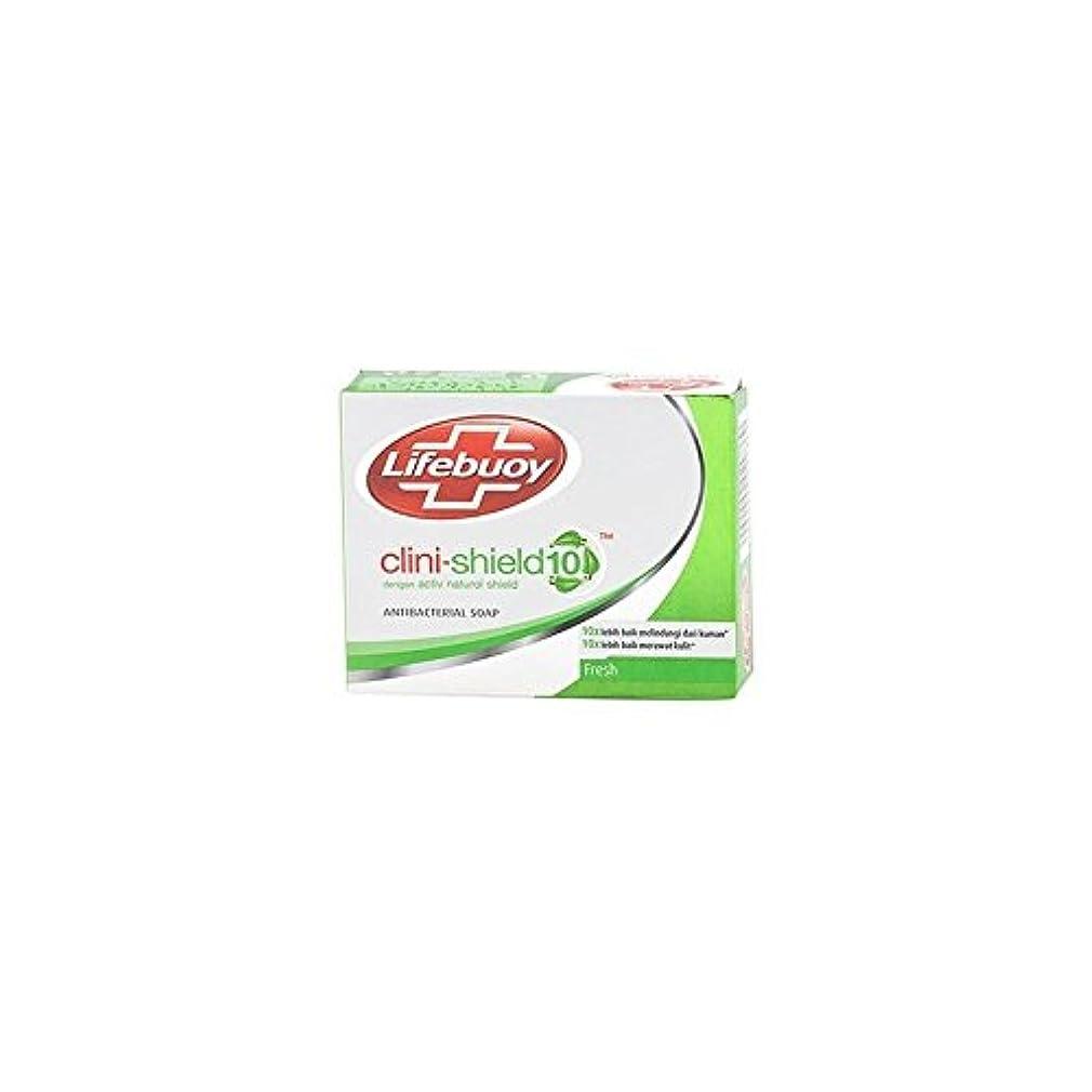 水差しストレッチ王朝Unilever Indonesia lifebouy石鹸cliniシールド-10フレッシュ、70グラム