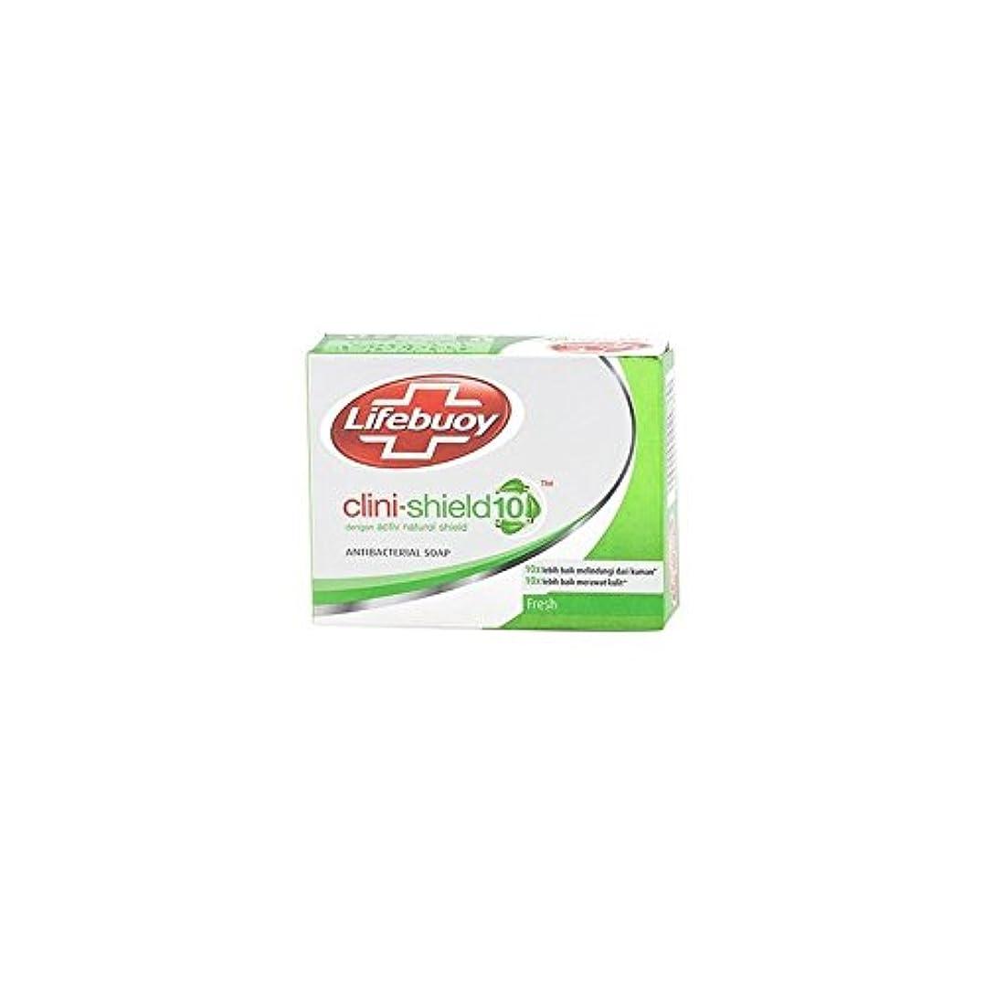 Unilever Indonesia lifebouy石鹸cliniシールド-10フレッシュ、70グラム